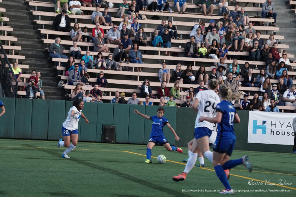 Nahomi 'Naho' Kawasumi scores her second of the night.