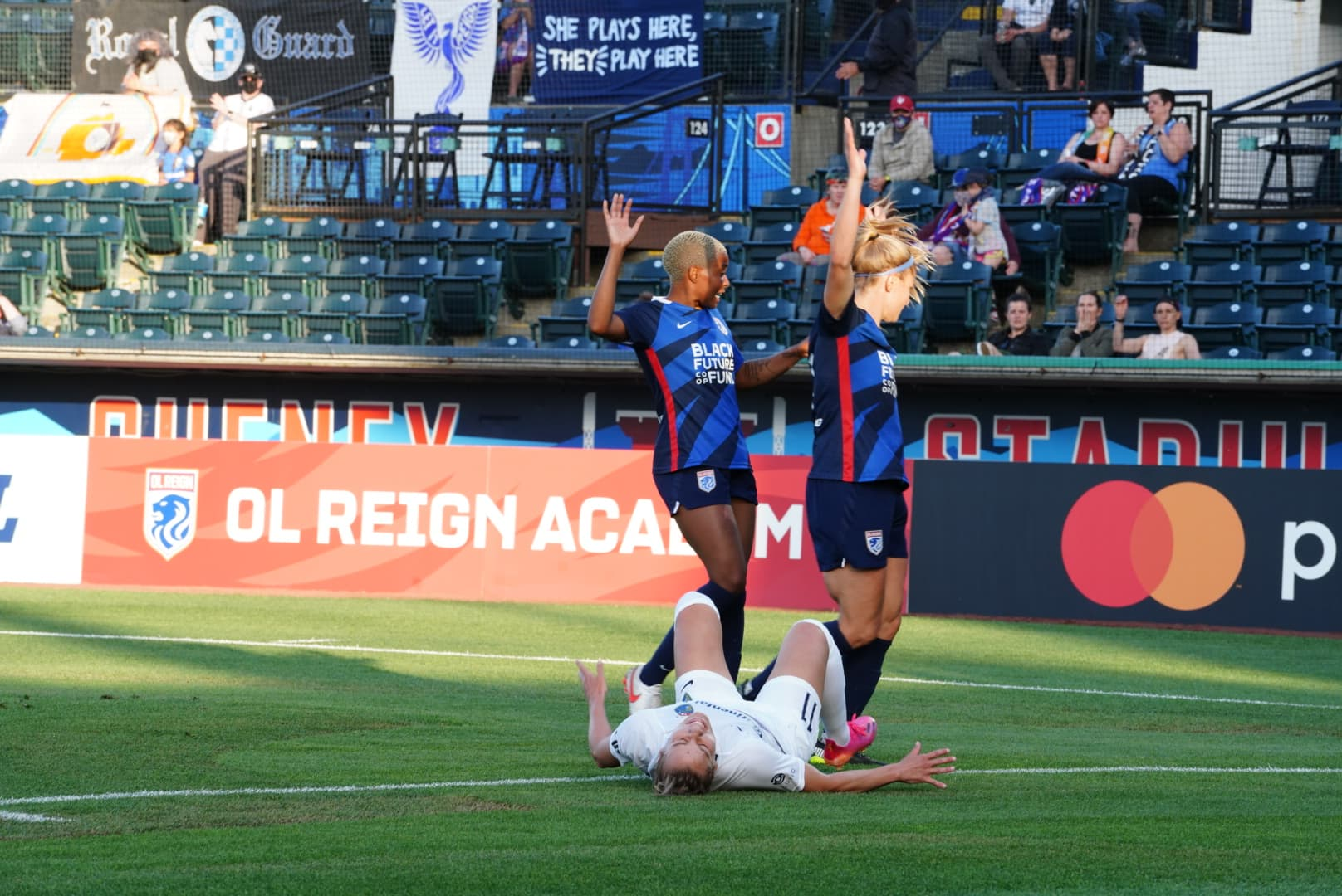 Two Reign FC defenders proclaim their innocence